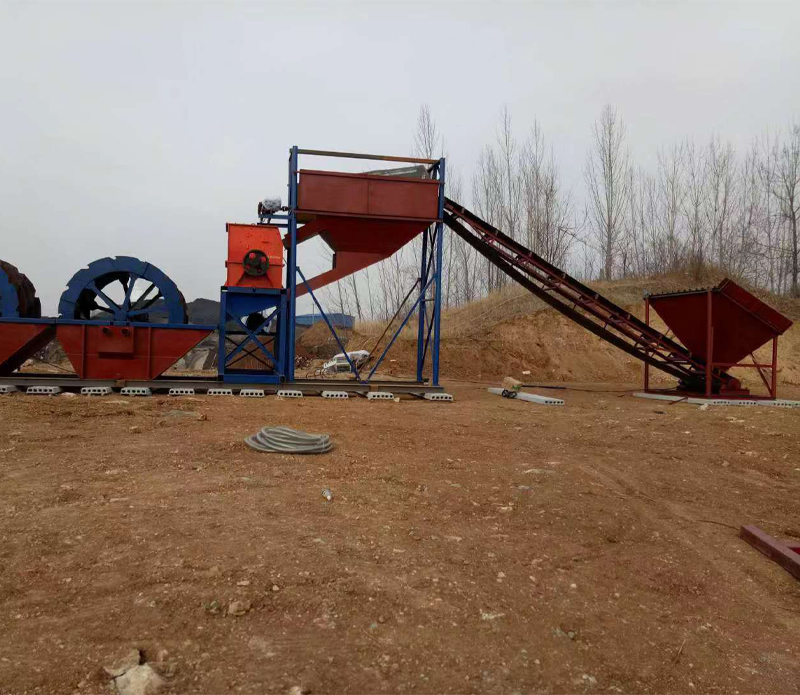 助力建筑垃圾变废为宝恒力机械制砂机 为环境保护做贡献