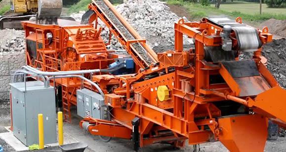 湖北襄控机电工程设备有限公司智能移动制砂机 采用车载安装形式河北多项优势