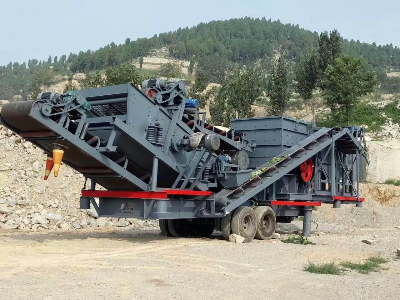 湖北恒力智能移动制砂机 环保技能的融入山西有保障