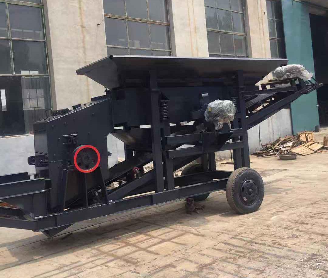 湖北襄控机电工程设备有限公司移动智能制沙机盈利快 能够资源再生内置细度控制装置